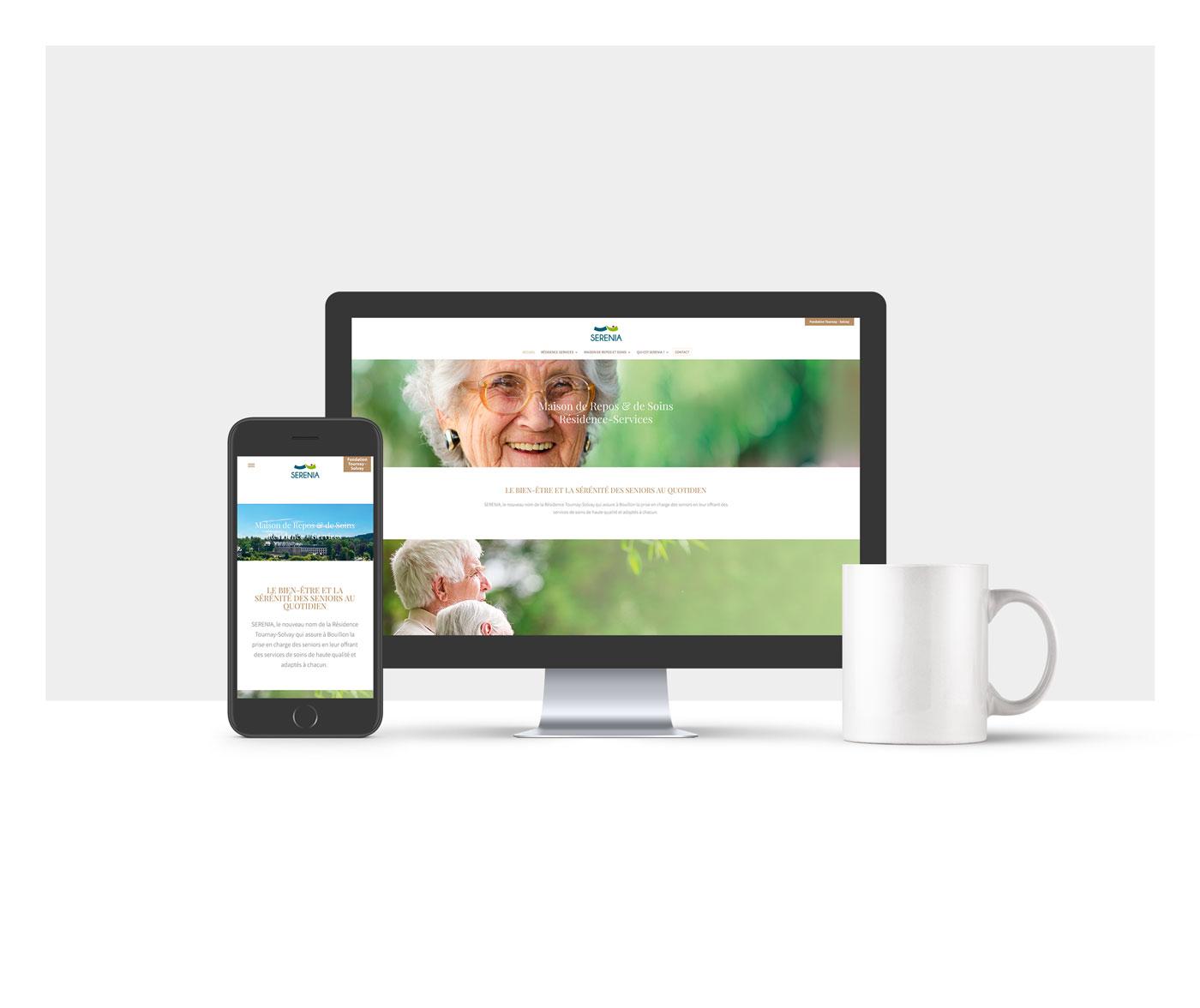 SERENIA - Site web
