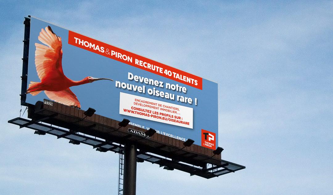Thomas & Piron – une Campagne RH qui s'envole