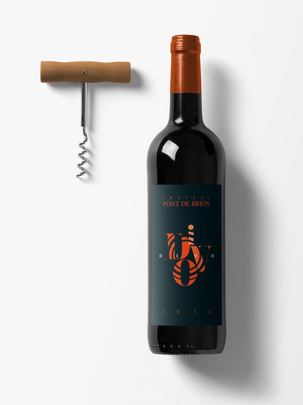 Il Divo - Packaging bouteille de vin